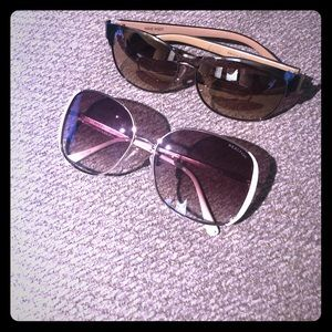 2 sunglasses Kenneth Cole and Nine West